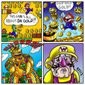 New Super Mario Bros 2 - super-mario-bros fan art