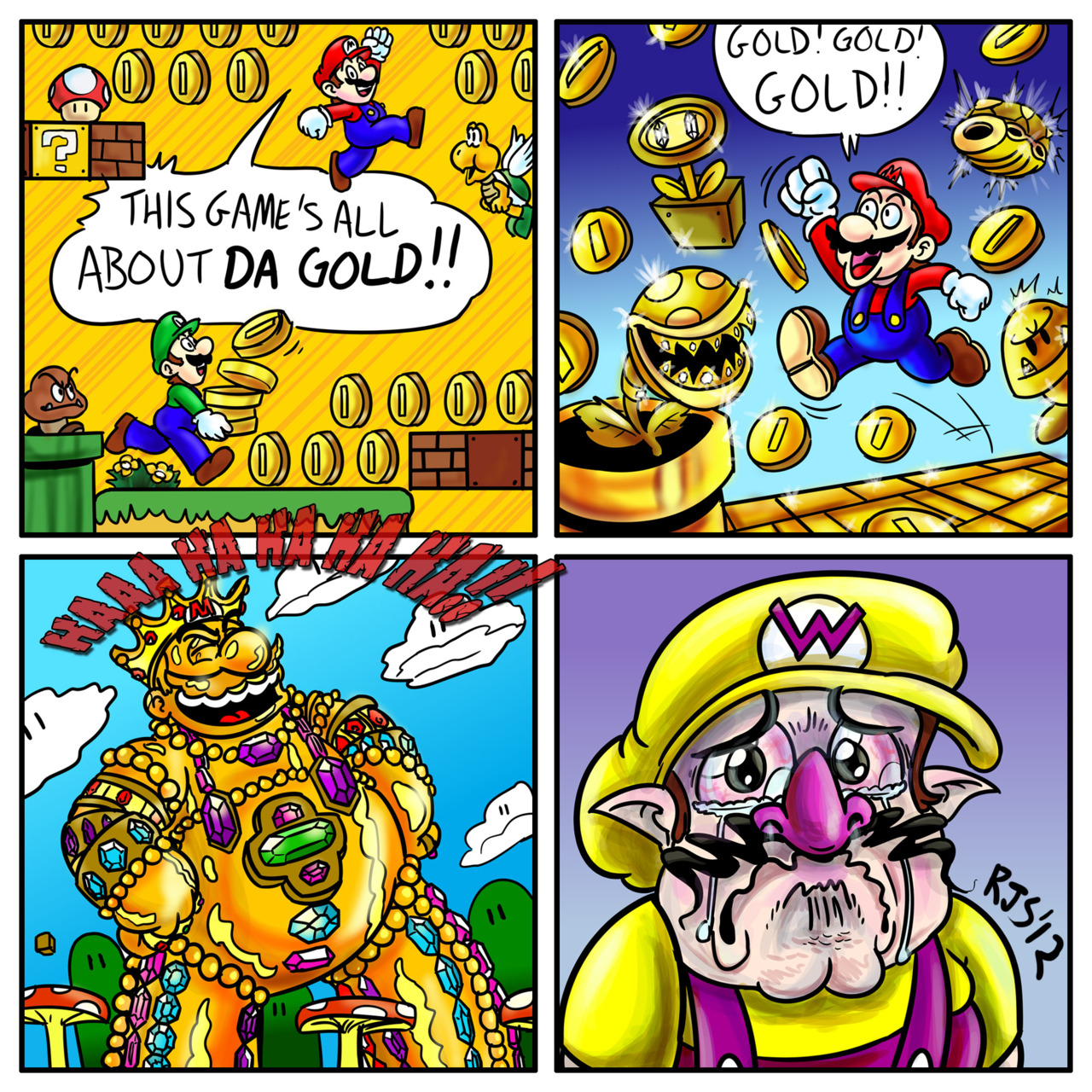Mario Bros Super Fan Art