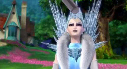 Nice mic there, Snow Queen