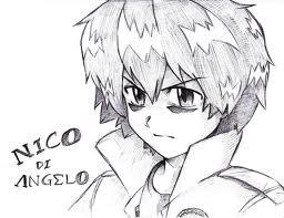 Nico di Angelo Аниме Style