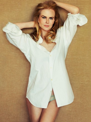 Nicole Kidman wallpaper possibly with a playsuit titled Nicole Kidman - Hollywood Reporter The Sundance Issue 2013