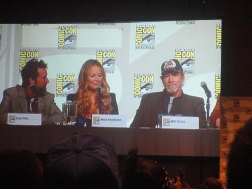 Noah, Moon & Will at Comic Con 2012