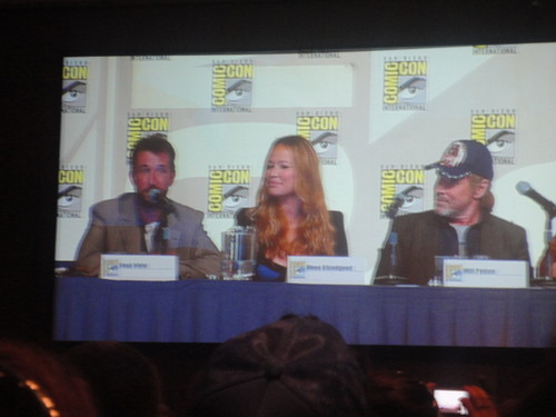 Noah, Moon & Will at Comic Con 2012