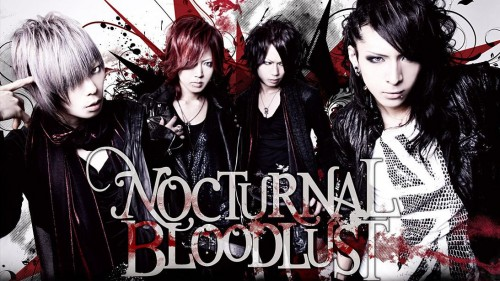 Nocturnal Bloodlust Hintergrund possibly containing a sign and a portrait entitled Nocturnal Bloodlust