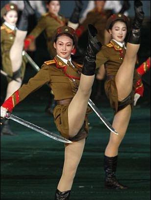 North Korean Army Babes