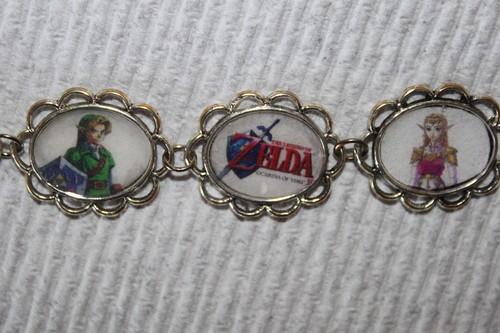 Ocarina of Time main characters bracelet