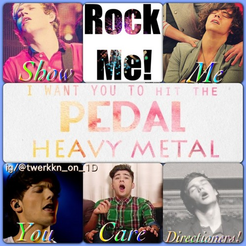 One Direction Rock Me!