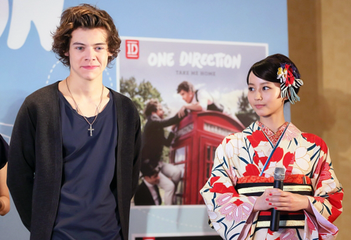 One Direction wallpaper with a kimono titled One Direction in Japan, 2013