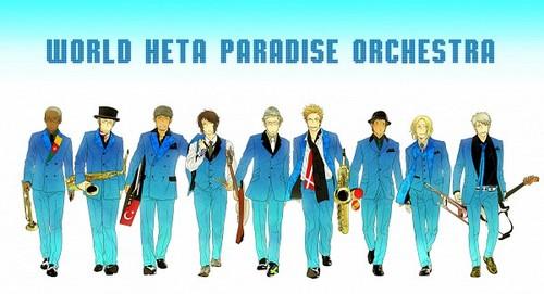 Orchestra~ (Hetalia Style)
