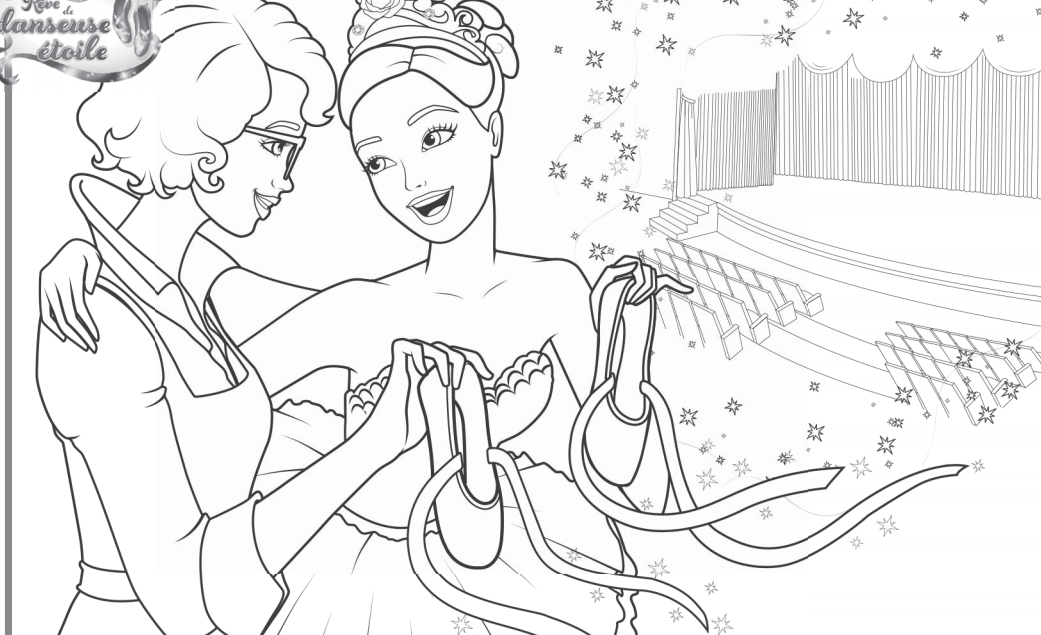 barbie coloring pages 2006 - photo#13