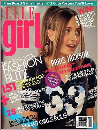 Paris Jackson Magazine Elle Girl (@ParisPic)
