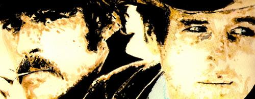 Paul Newman & Robert Redford.Butch Cassidy and the Sundance Kid 1969