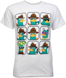Perry the platpus camisa, camiseta