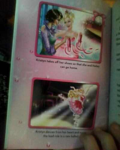 Pictures of the PS Junior Novelization insert