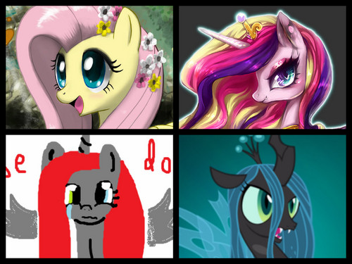 gppony, pony Collage