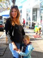 Poppy & Jackson in Santa Monica - poppy-montgomery photo