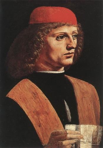 Portrait of a Musician Von Leonardo da Vinci, 1485