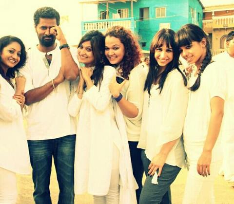 Prabhu Deva with ABCD girls
