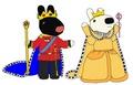 Prince Gaspard and Princess Lisa
