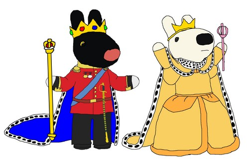 Prince Gaspard and Princess Lisa