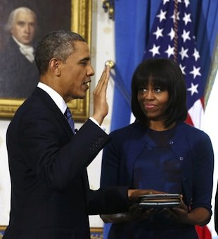 Private Swearing In At The Oval Office