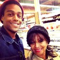Rebbie With Her Son