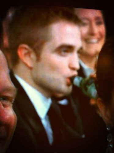 Robert Pattinson at the 2013 70th Golden Globes