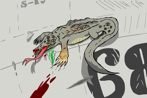 SCP-173 - The SCP Foundation shabiki Art (33363473) - fanpop