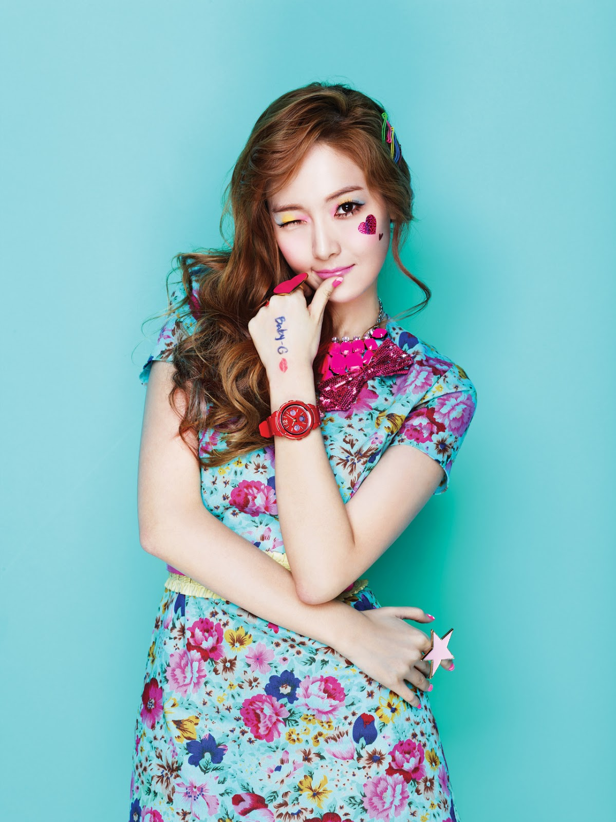 SNSD Kiss Me Baby-G by Casio || Jessica