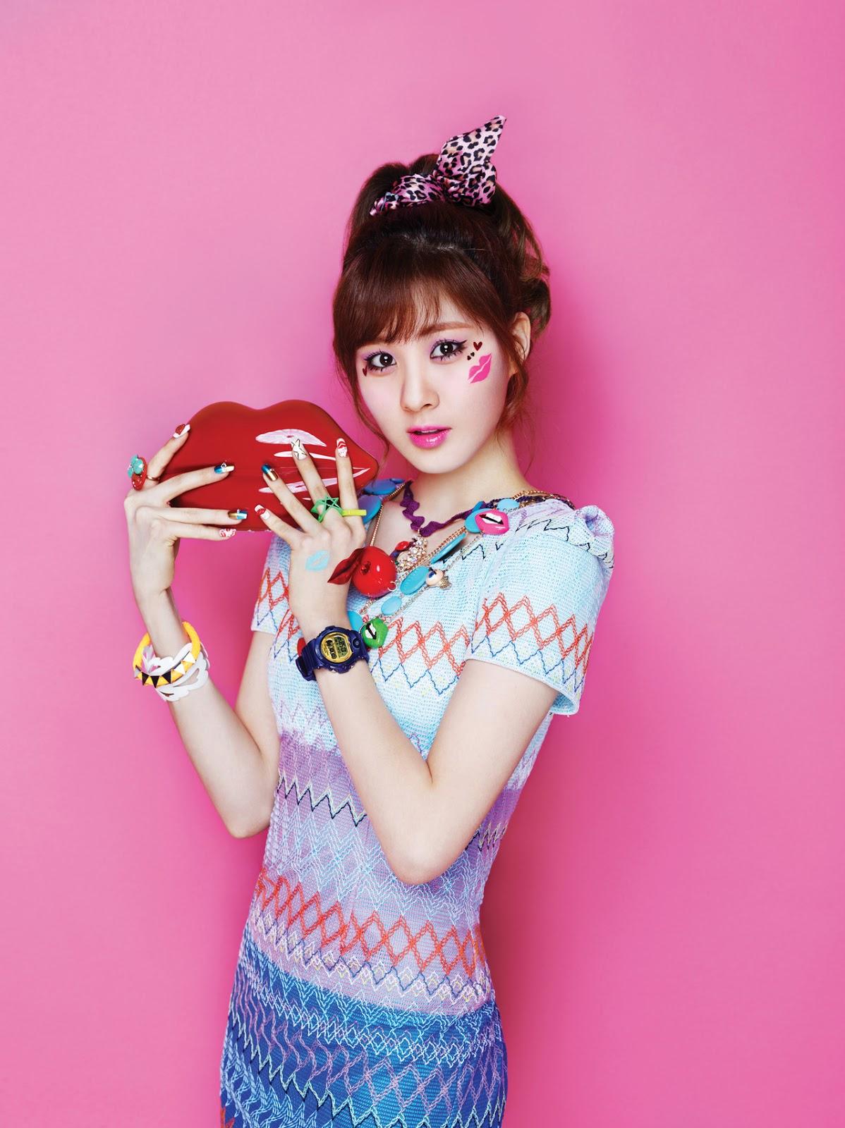 SNSD 吻乐队(Kiss) Me Baby-G 由 Casio    Seohyun