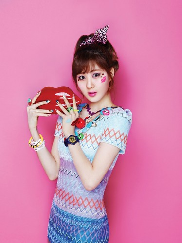 Girls Generation/SNSD wallpaper entitled SNSD Kiss Me Baby-G by Casio || Seohyun
