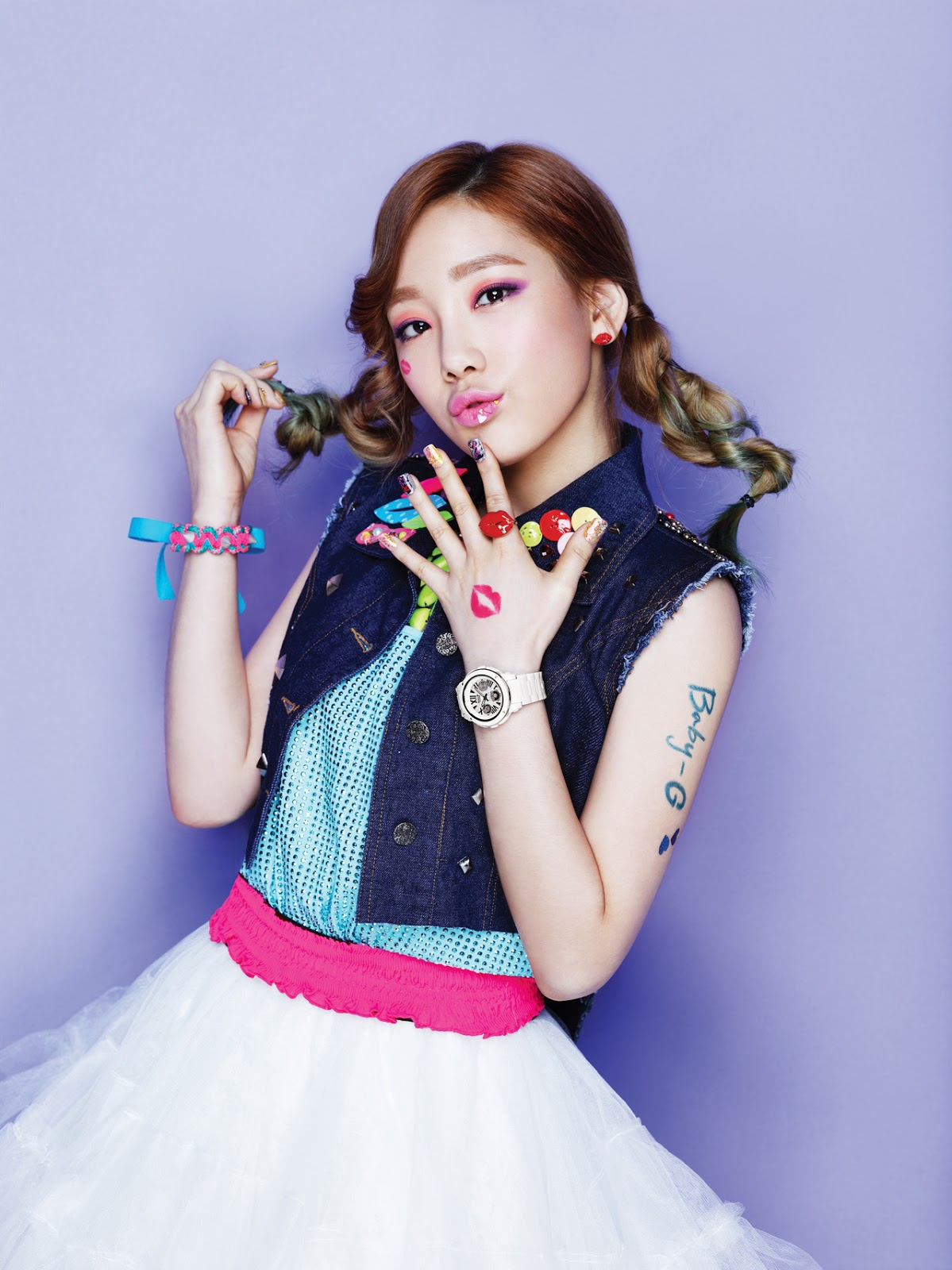 Taeyeon Kiss me Baby g Kiss me Baby-g by Casio ||