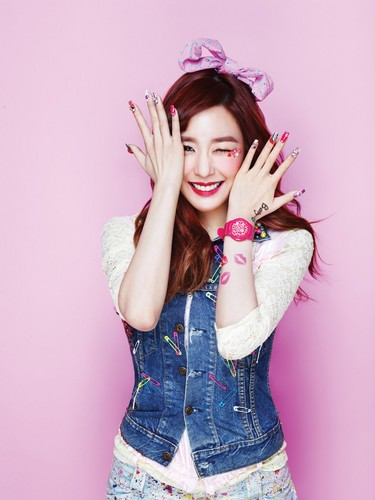 SNSD 키스 Me Baby-G 의해 Casio || Tiffany