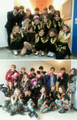 SNSD group bức ảnh with EXO-K and EXO-M