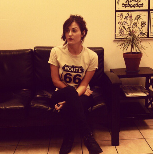 Scout Taylor-Compton wallpaper containing a family room, a living room, and a couch titled Scout Taylor Compton