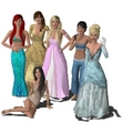 Sims 3 Disney Princesses - disney-princess photo