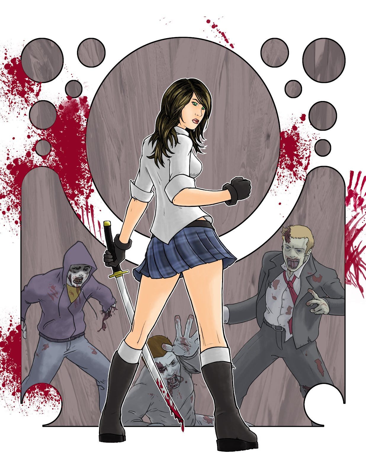 Zombie Hunters And Slayers Images Slayer Girl Hd Wallpaper And Background  Photos