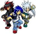 Sonic, Shadow, and Silver - sonic-guys photo