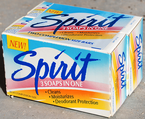 Spirit soap bar