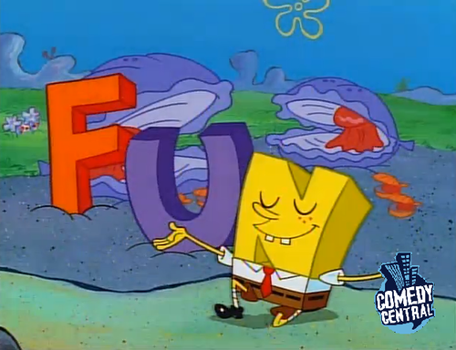 Spongebob Squarepants wolpeyper containing anime titled Spongebob FUN