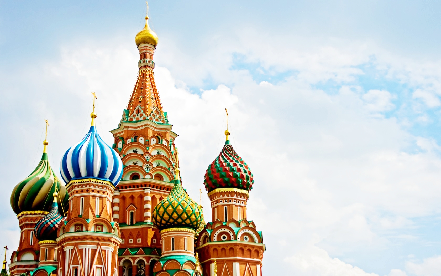 St. Basil's Cathedral - Russia Wallpaper (33388434) - Fanpop: www.fanpop.com/clubs/russia/images/33388434/title/st-cathedral...