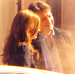Nathan Fillion & Stana Katic 壁紙 probably with a tympanist, a drummer, and a percussion instrument titled StaNathan<3