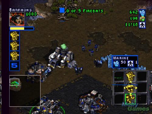 StarCraft 64 screenshot