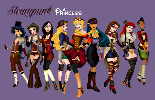 Steam Punk Princesses