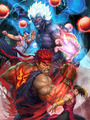 Street Fighter - video-games fan art
