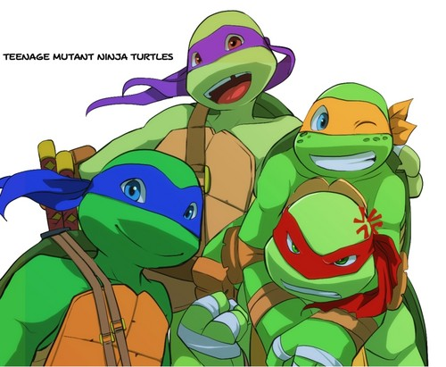 TMNT 2012 (the 4) - tmnt-2012 Fan Art