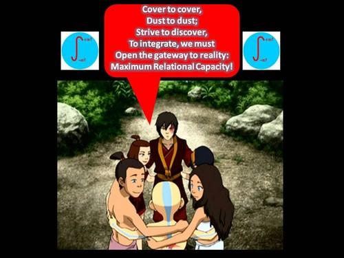 Team avatar chants the mantra of Maximum Relational Capacity