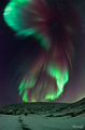 The Aurora Borealis - space photo