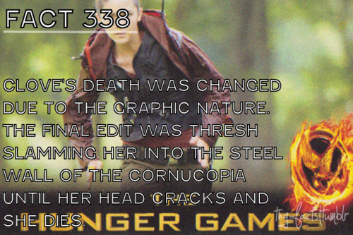 The Hunger Games wallpaper entitled The Hunger Games facts 321-340