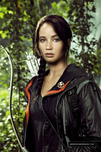 Katniss Everdeen achtergrond titled The Hunger Games
